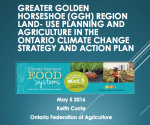 Climate Resilient Food Systems, Presentations Now Online