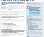 First Steps in Exporting Seminar