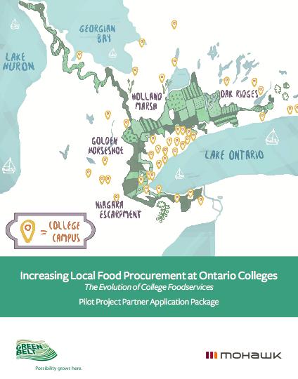 Increasing Local Food Procurement at Ontario Colleges