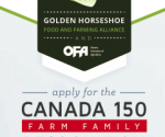 Canada 150 Farm Family Recognition Program