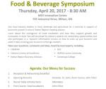 Food and Beverage Symposium_Milton