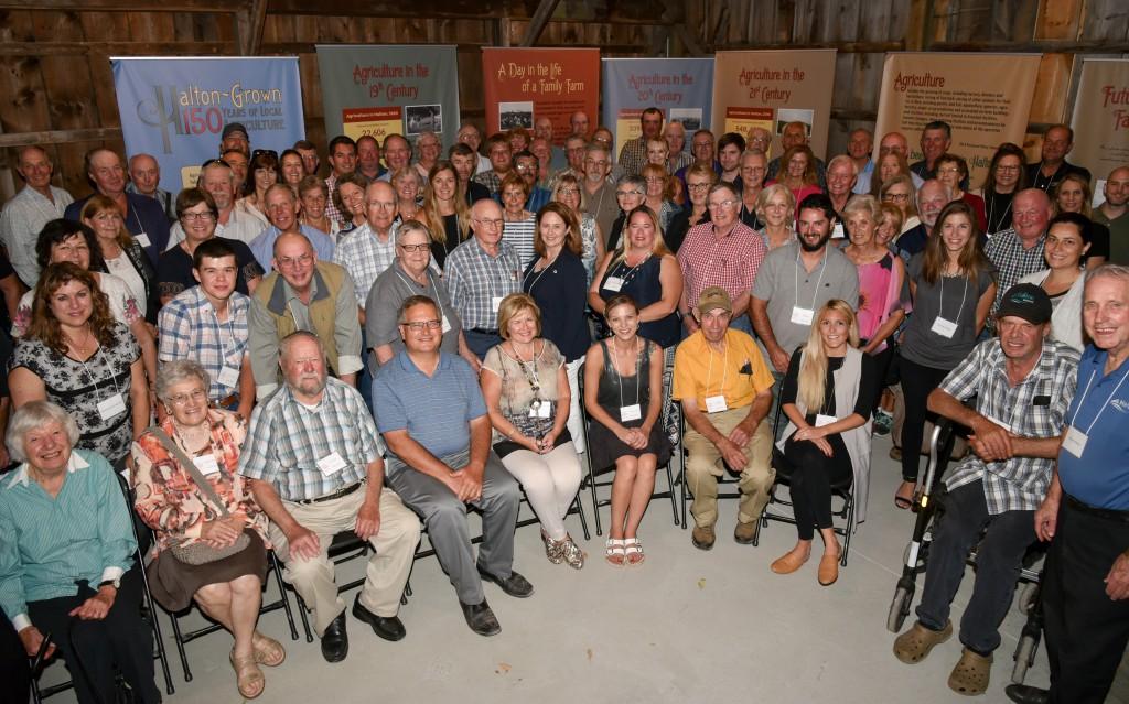 Halton 150 Farm Families
