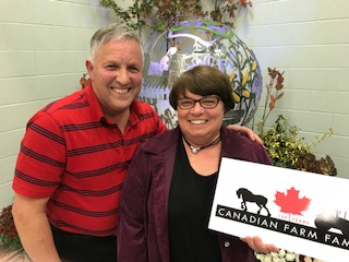 Gord and Ruth Taylor, Durham Region
