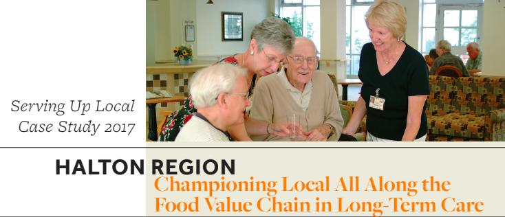 Halton Region Case Study