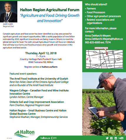 Halton Region Ag Forum 2018