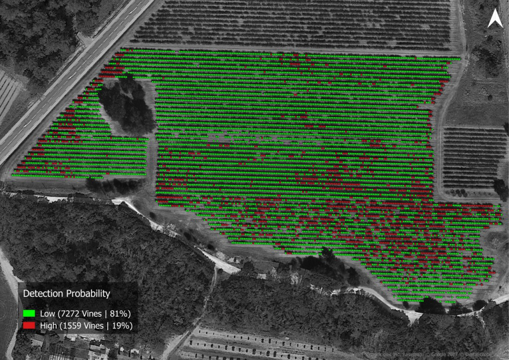 VineView mapping image