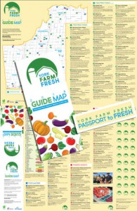 York Farm Fresh Guide Map